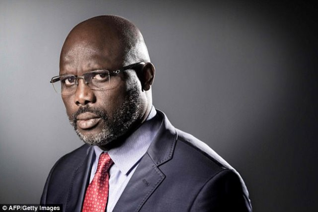 Street Party Held to Celebrate George Weah's Victory in Presidential Election