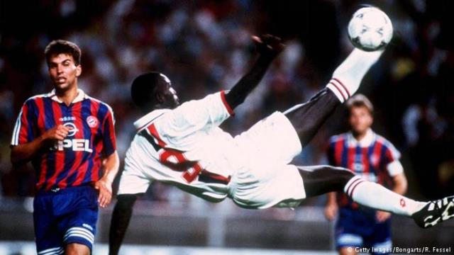 George Weah: From goals to polls