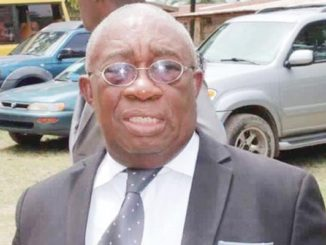 The Late Prof. James Wolo