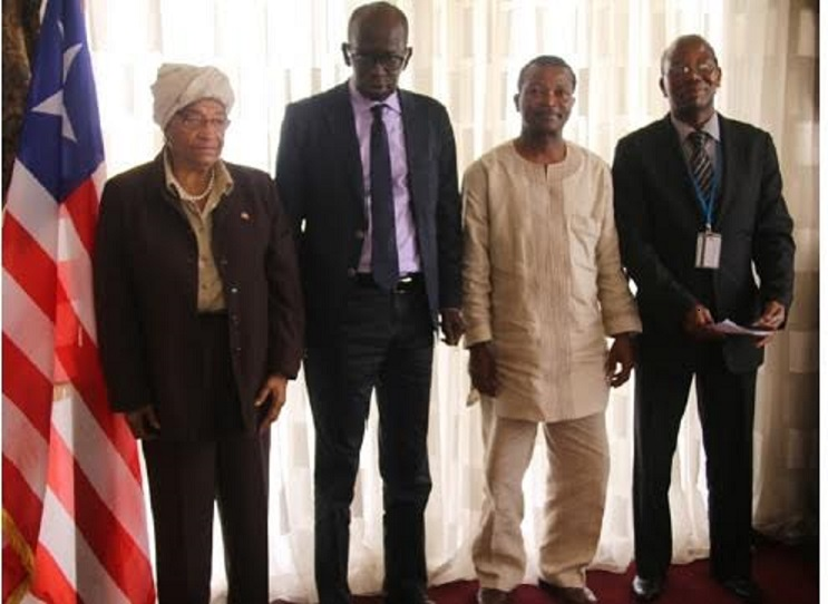 Liberian Leader, WFP Regional Boss pledged support to Zero-Hunger Strategic Review & School Meals -