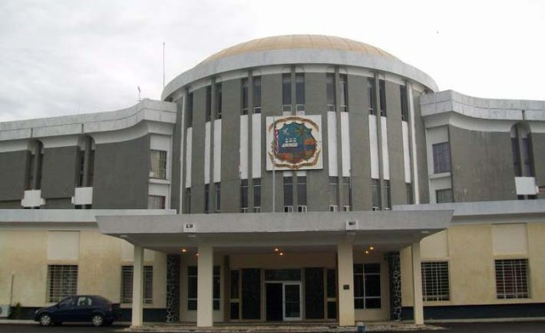 Capitol Building, the home of the Liberian lawmakers