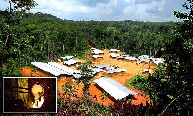 Prospect: The jungle-bound Liberia gold mine stands to benefit from funds generated by the Mali site