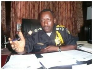 Col. Abe Kromah performing his statuary duty as the operational man of the LNP