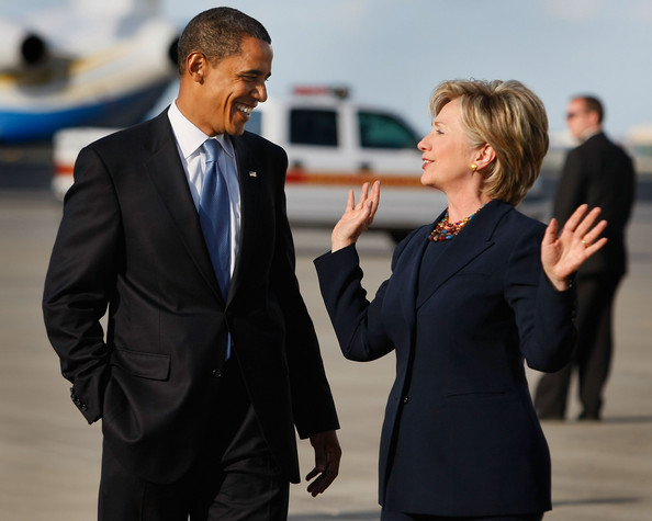 Hillary Clinton And President Obama