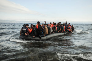 Britain rescues 19 migrants from inflatable boat in Channel