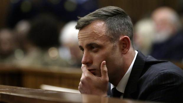 Oscar Pistorius appears at the High Court in Pretoria, South Africa (AP)