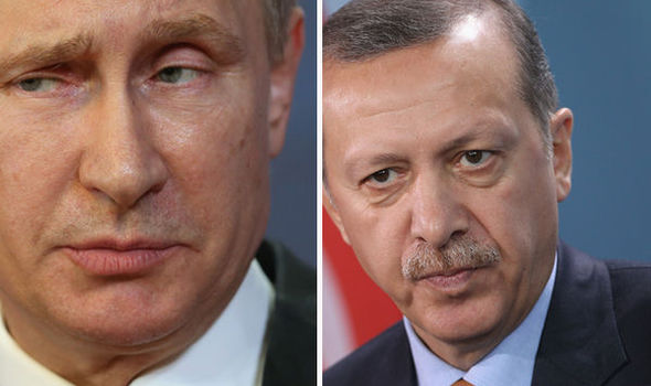 Putin and Erdogan - GETTY