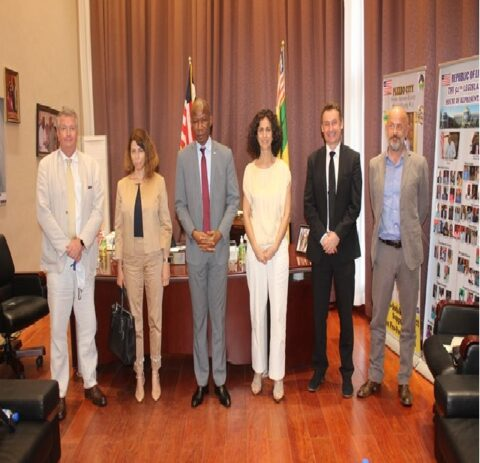Speaker Chambers, EU Delegation Hold Talks on Elections -Women Participation, Electoral Reform & Funding, Topped