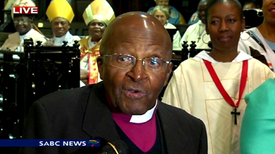 Tutu has had a remarkable 40 years of service (SABC)