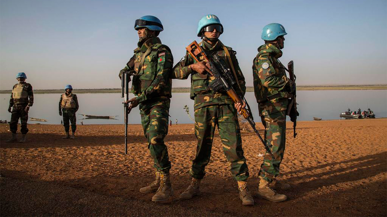 Bangladesh Peacekeepers