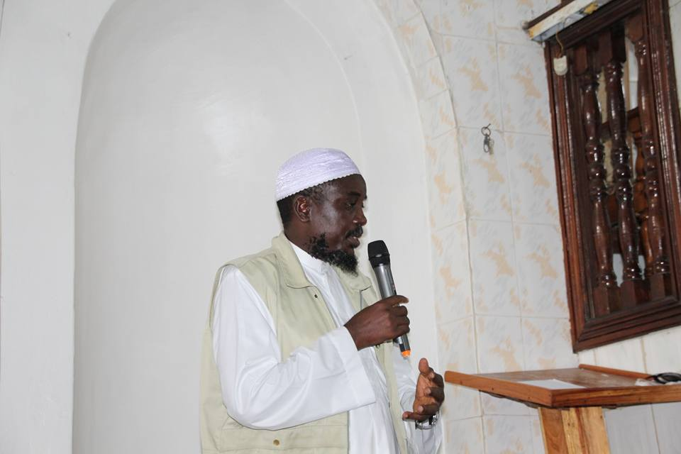 An Islamic Prelate at the funeral