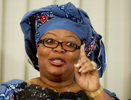 Leymah Gbowee, a founding member and Liberian Coordinator of the Women in Peacebuilding Network (WIPNET) of the West Africa Network for Peacebuilding (WANEP).