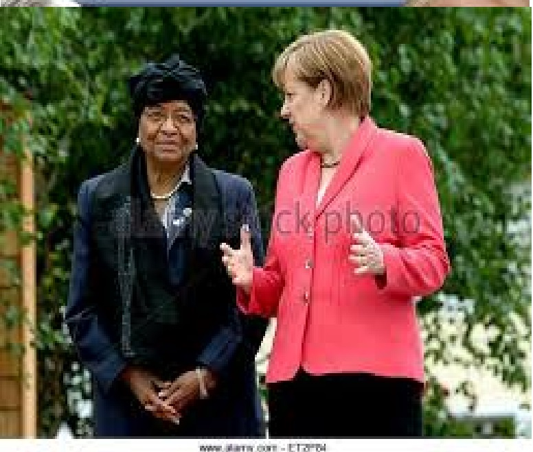 FLASH BACK: Liberian President with German Leader