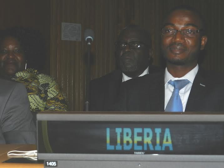 Liberia's Minister of Finance for Economic Planning and Development