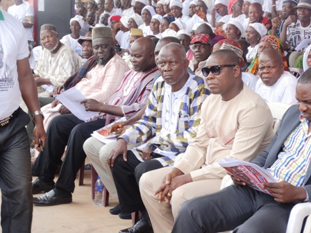 Some members of the House of Representatives who were at the occasion