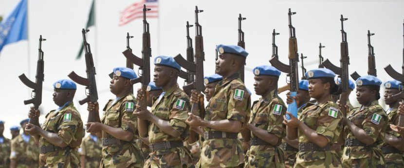 Nigerian UN Peacekeeping Troop