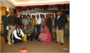 LAAA newly inaugurated officials and members in group photo