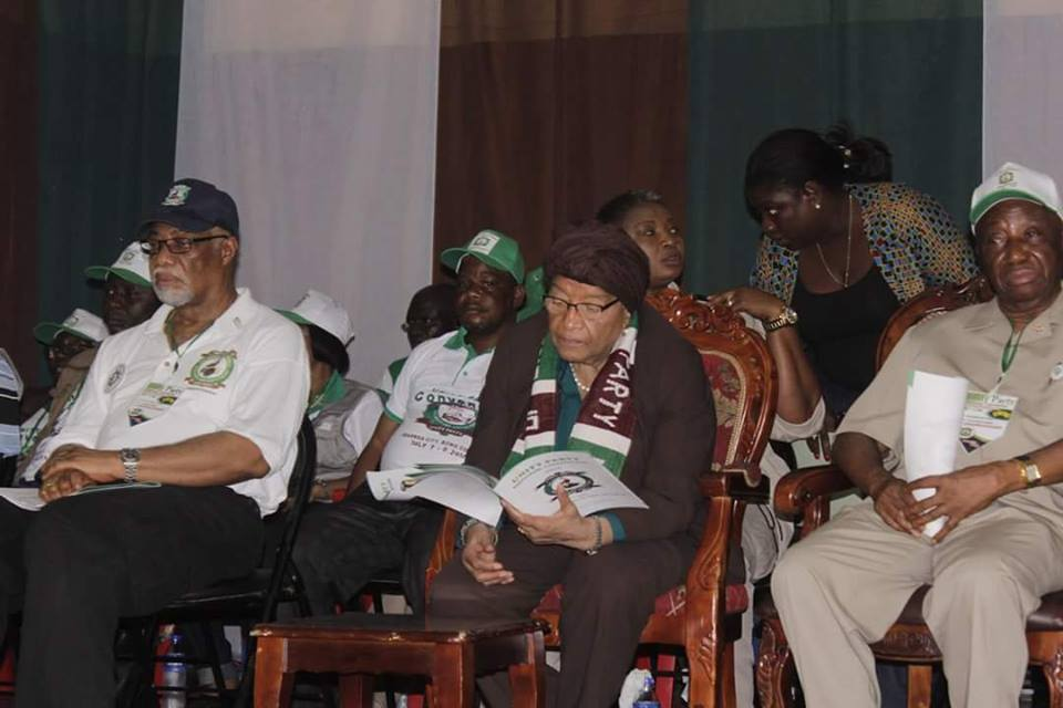 Is Cllr. Varney Sherman ignoring President Sirleaf at the Convention?