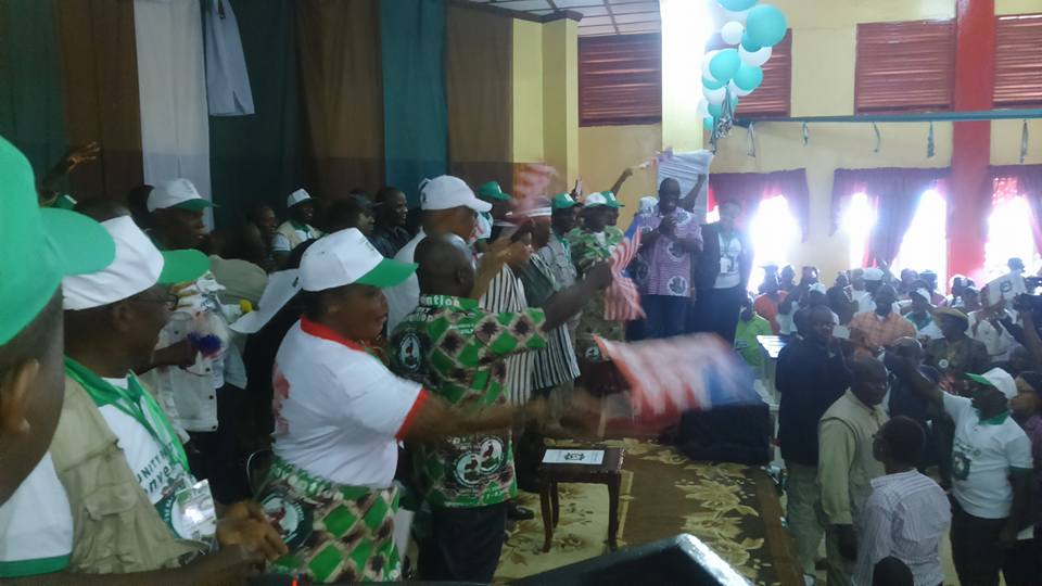 Partisans At The Gbarnga Convention